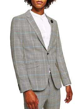 Skinny Fit Houndstooth Suit Jacket by Nordstrom