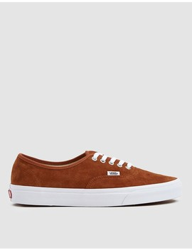 Suede Authentic Sneaker In Brown by Vans