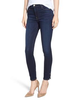 Le High Slit Hem Skinny Jeans by Nordstrom