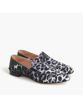 Convertible Smoking Slippers In Leopard by J.Crew