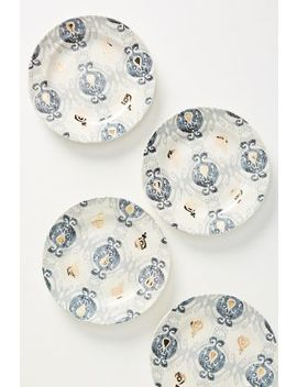 Tanja Side Plates, Set Of 4 by Anthropologie