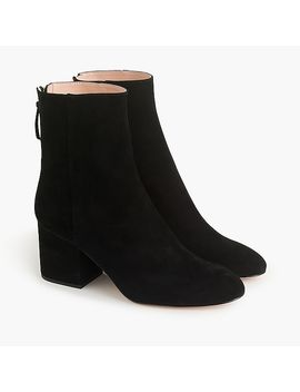 Sadie Ankle Boots In Suede by J.Crew