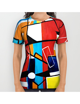 Geometric All Over Print Shirt by