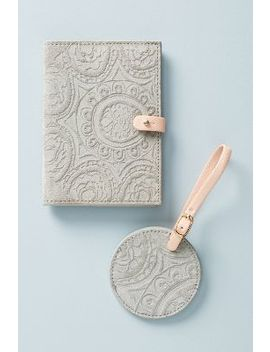 Foxglove Passport Holder by Anthropologie