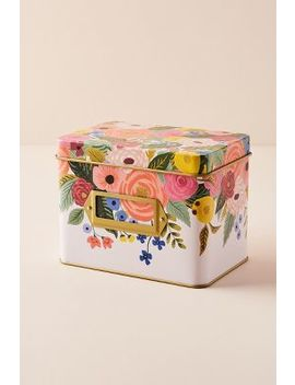 Rifle Paper Co. Recipe Tin by Rifle Paper Co.