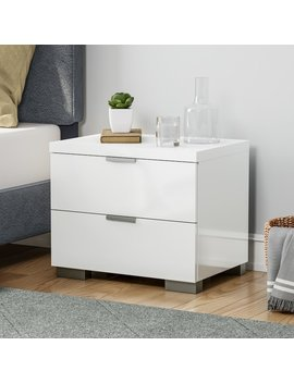 Porch & Den Third Ward Jefferson High Gloss Nightstand by Porch & Den