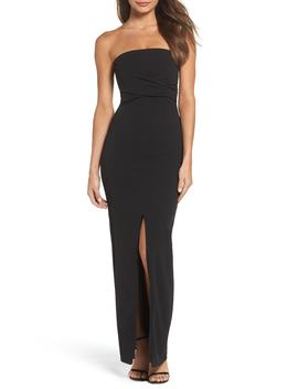 Own The Night Strapless Maxi Dress by Nordstrom