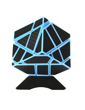 Aoile Emorefun Qin Speed Soomth Carbon Fiber 3x3 Puzzle Cube Blue&Black By Aoile by Aoile