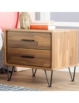 Union Rustic Border 2 Drawer Nightstand & Reviews by Union Rustic
