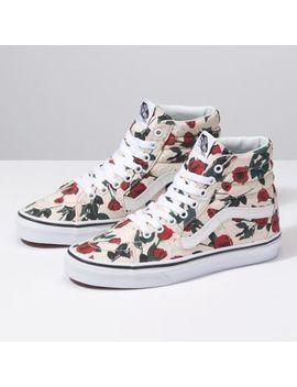Roses Sk8 Hi by Vans