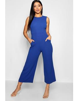 High Neck Jumpsuit by Boohoo