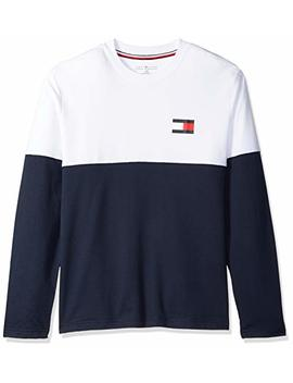 Tommy Hilfiger Men's Modern Essentials French Terry Long Sleeve Crew Neck, by Tommy+Hilfiger