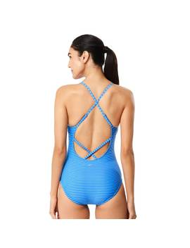 Women's Speedo Striped One Piece Swimsuit by Kohl's