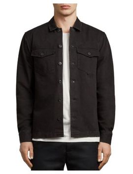Encamp Regular Fit Button Down Shirt by Allsaints