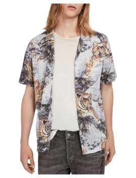 Chokai Short Sleeve Camp Shirt by Allsaints