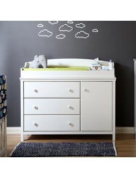 South Shore Cotton Candy Changing Table & Reviews by South Shore