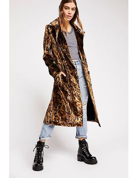 Leopard Trench by Free People