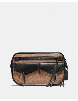 Utility Belt Bag 25 In Signature Canvas by Coach