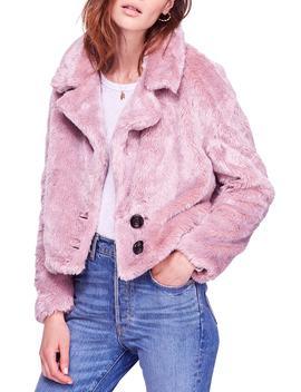 Mena Faux Fur Jacket by Nordstrom