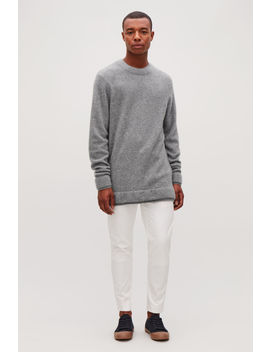Trimmed Cashmere Jumper by Cos