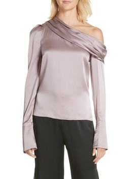 Monica Silk One Shoulder Blouse by Nordstrom