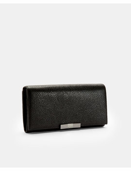 Bow Flap Leather Matinee Purse by Ted Baker
