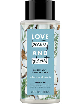 Volume And Bounty Coconut Water & Mimosa Flower Shampoo by Love Beauty And Planet
