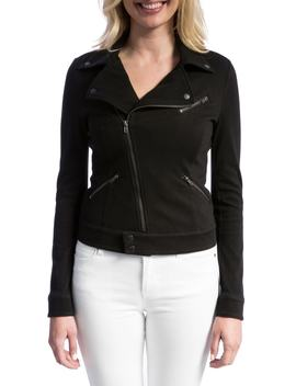 New Moto Stretch Cotton Jacket by Nordstrom