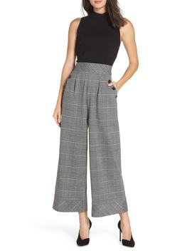 Glen Plaid Jumpsuit by Nordstrom