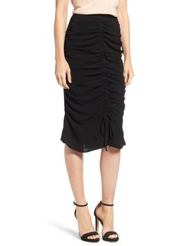 Ruched Pencil Skirt by Nordstrom