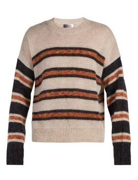 Russell Crew Neck Mohair Sweater by Isabel Marant