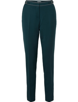 Isabel Wool Blend Slim Leg Pants by Gabriela Hearst