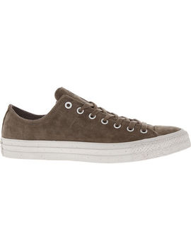 Brown Leather Trainers by Converse