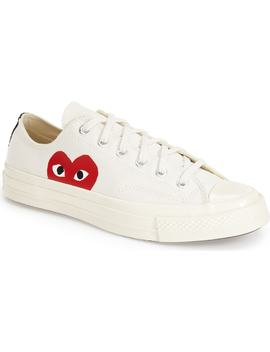 Comme Des Garçons Play X Converse Chuck Taylor® Hidden Heart Low Top Sneaker by Nordstrom