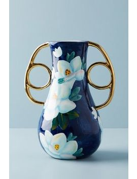 Watercolour Garden Vase by Anthropologie