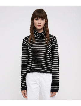 Marty Roll Neck Jumper by Allsaints