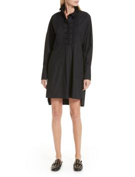 Isabel Marant Étoile Milena Ruffle Neck Shirtdress by Nordstrom