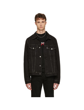 Black Playboi Carti Edition Denim 'die Punk' Jacket by Palm Angels
