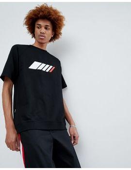Antimatter Logo T Shirt In Black by Antimatter