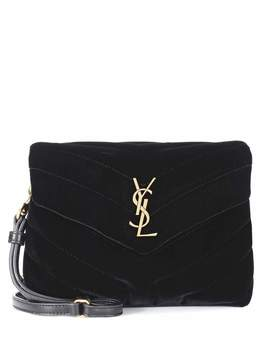 Borsa Toy Loulou In Velluto by Saint Laurent