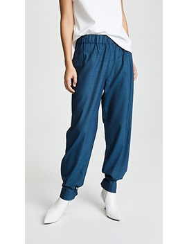 Easy Pull On Pants by Tibi