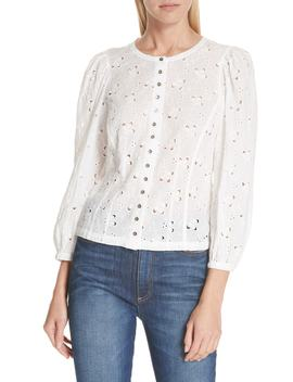Sweet Pea Eyelet Top by Nordstrom