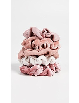 Velvet Scrunchies by Kitsch