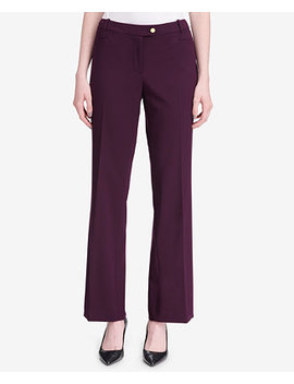 Straight Leg Pants by Calvin Klein