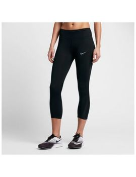 Nike Dri Fit Racer Crop   Women's by Nike