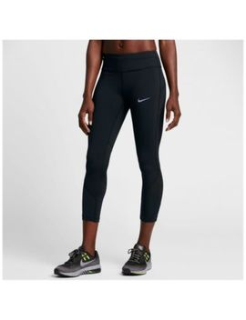 Nike Dri Fit Power Epic Lux Crop   Women's by Nike