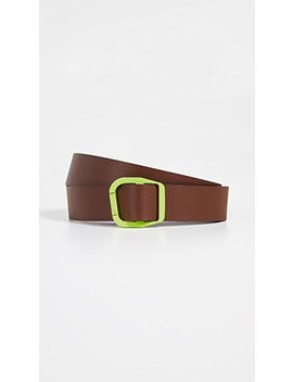 Carabiner Leather Belt by Tibi