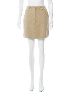 Mini Pencil Skirt by Anna Sui