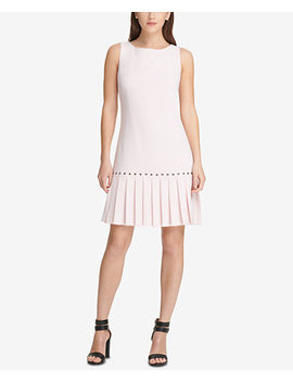 Drop Waist Pleated Dress, Created For Macy's by Dkny
