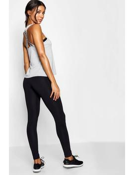 Fit Strapping Back 2 Pack Vest by Boohoo
